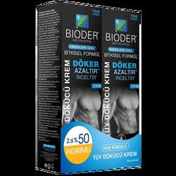 BIODERM - Tüy Dökücü Krem 2.%50 Erkek