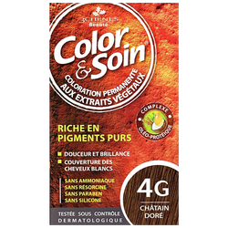 COLOR SOIN - Color Soin 4G Altın Kahve