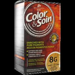 COLOR SOIN - Color Soin 8G Açık Bakır Sarısı