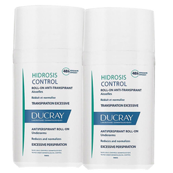 DUCRAY - Hidrosis Control Roll-on Anti-Transpirant Aisselles 40 ml 1+1