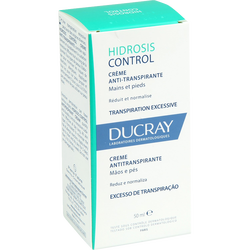 DUCRAY - Hidrosis Control Creme Anti-Transpirante Mains et Pieds 50 ml