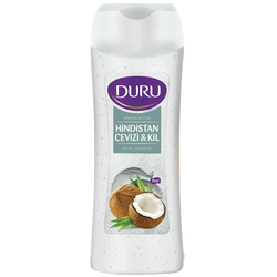 DURU - Hindistan Cevizi & Kil Banyo ve Duş Jeli 450 ml