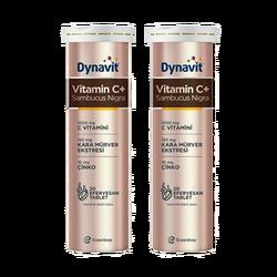DYNAVİT - Vitamin C+ Sambucus Nigra 20 Efervesan