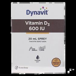 DYNAVİT - Vitamin D3 600 IU 20 ml Sprey