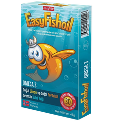 EASYVİT - Easy Fish Oil 30 Adet