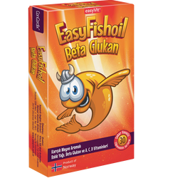 EASYVİT - Easy Fish Oil Beta Glukan 30 Adet