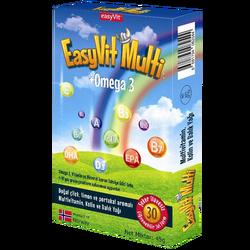 EASYVİT - Easy Fish Oil Multi 30 Adet