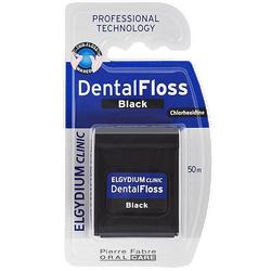 ELGYDIUM - Dental Floss Chlorhexidine Black