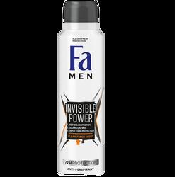 FA - Men Invisible Powder 72 H Deodorant 150 ml