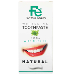 FE - Whitening Toothpaste Herbal With Flouride 90 gr