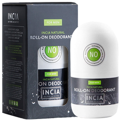 INCIA - Natural Roll-On Deodorant For Men 50 ml