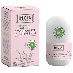INCIA - Natural Roll-On Deodorant For Sensitive Skin 50 ml