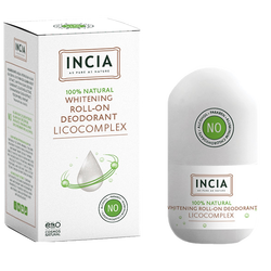 INCIA - Natural Whitening Roll-On Deodorant