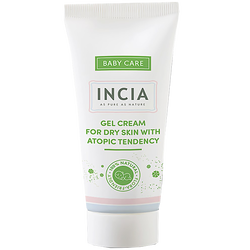 INCIA - Gel Cream For Dry Skin With Atopic Tendency 50 ml