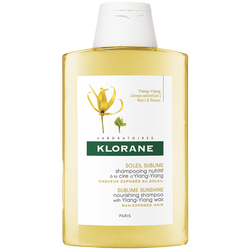 KLORANE - Soin Soleil Shampooing Nutritif a la Cire D'Yalng-Ylang 200 ml
