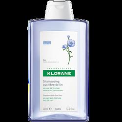 KLORANE - Volume Shampooing aux Fibres de Lin 400 ml