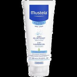 MUSTELA - 2 en 1 Gel Nettoyant