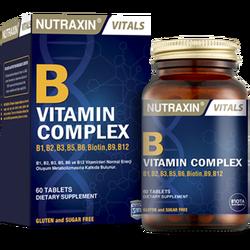 NUTRAXIN - B Vitamin Complex 60 Tablet