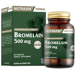 NUTRAXIN - Bromelaın 500 mg 60 Tablet