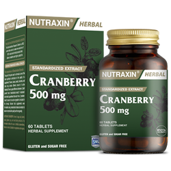 NUTRAXIN - Cranberry 500 mg 60 Tablet