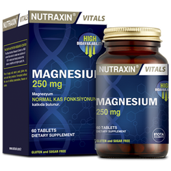 NUTRAXIN - Magnesium 250 mg 30 Tablet