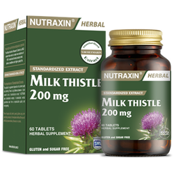 NUTRAXIN - Milk Thistle 200 mg 60 Tablet