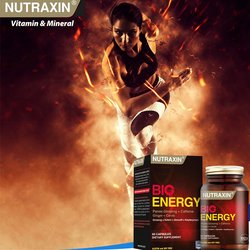 NUTRAXIN - Big Energy 100 Tablet
