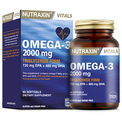 NUTRAXIN - Omega 3 2000 mg 60 Soft Gel