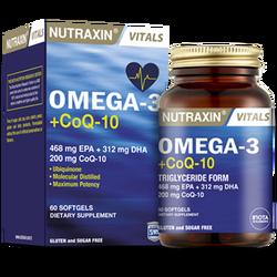 NUTRAXIN - Omega 3 + CoQ 10 60 Soft Gel