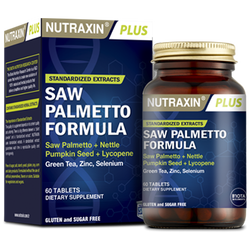 NUTRAXIN - Saw Palmetto Formula 60 Tablet