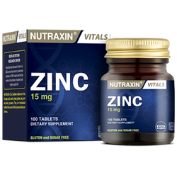 NUTRAXIN - Zinc 15 mg 100 Tablet