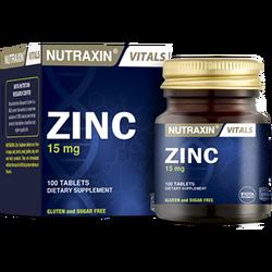 NUTRAXIN - Zinc 15 mg