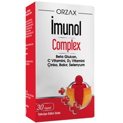 ORZAX - İmunol Complex 30 Capsules