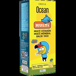 ORZAX - Ocean Balık Yağı ve Multi Vitamin 150 ml
