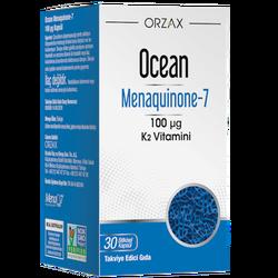 ORZAX - Ocean Menaquinone-7 100 µg 30 Herbal Capsules