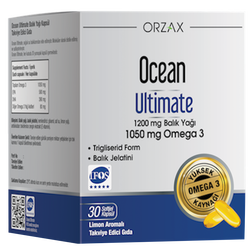 ORZAX - Ocean Ultimate 30 Softgel Capsules
