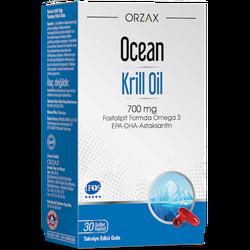 ORZAX - Ocean Krill Oil 700 mg 30 Softgel Capsules