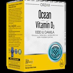 ORZAX - Ocean Vitamin D3 1000 IU Drops 50 ml