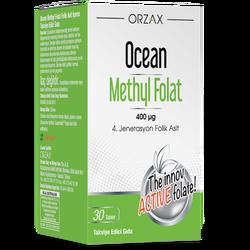 ORZAX - Ocean Methyl Folat 400 µg 30 Tablets