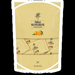 REBUL - Mandarine Kolonyalı Mendil 50 Adet