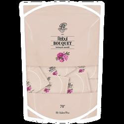 REBUL - Bouquet Kolonyalı Mendil 50 Adet