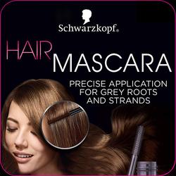SCHWARZKOPF - Hair Mascara Medium Brown 16 ml