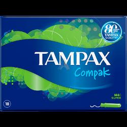 TAMPAX - Tampax Compak Tampon Super