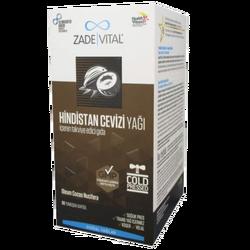 ZADE VITAL - Coconut Oil 60 Softgel Capsules