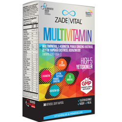 ZADE VITAL - Multivitamin 30 Tablet